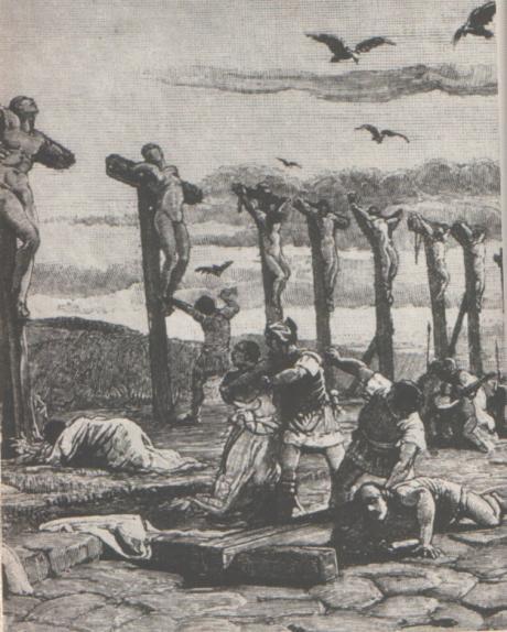 Lo Scontro Finale Violentissimo (dove Spartaco Venne Sconfitto E Ucciso)  Ebbe Luogo Nel 71 A.C. In Campania Vicino Al Punto In Cui Nasce Il Fiume  Sele.